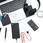 3in1 ライトニング マイクロUSB USB Type-C巻取りケーブル